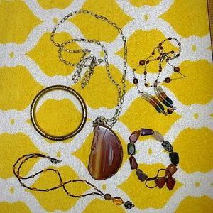 Jewelry - Lot of 5  Costume Jewelry SOBO Style